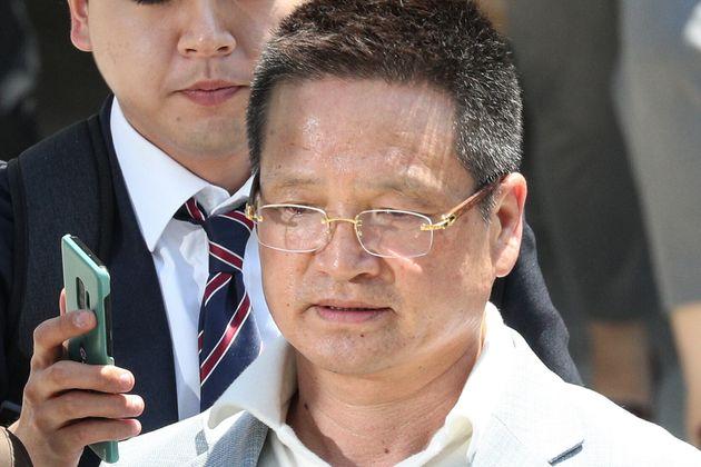 김학의 전 법무부 차관에 '별장 성접대'를 한 의혹을 받는 건설업자 윤중천