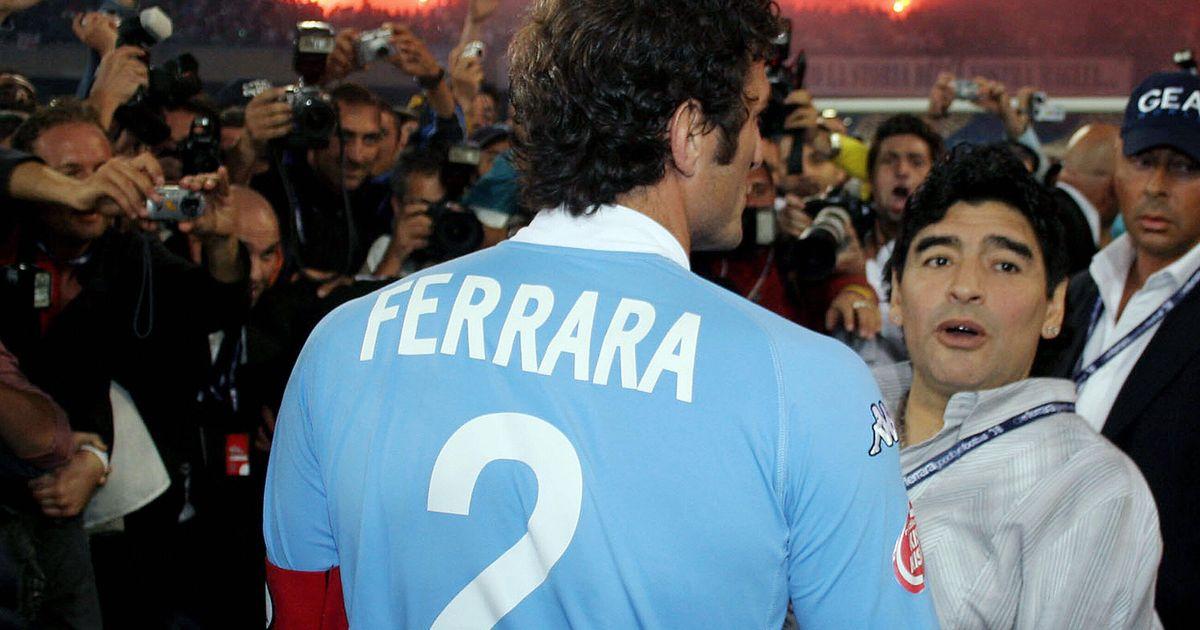"""""""Ho cominciato ad amare Maradona quando avevo 17 anni, giocavo nel Napoli e gli davo del lei"""""""
