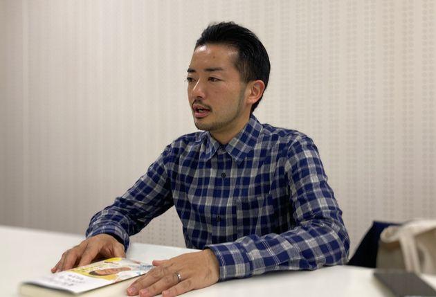 インタビューで語る杉山さん