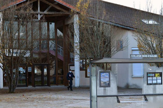 C'est au collège du Bois d'Aulne, ici photographié lors de la rentrée des vacances...