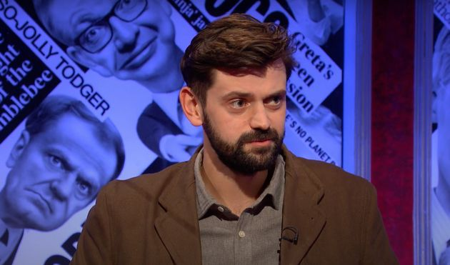 Fin Taylor on Have I Got News For You