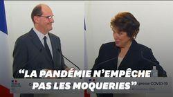 Jean Castex et Roselyne Bachelot se sont asticotés pendant la conférence sur le