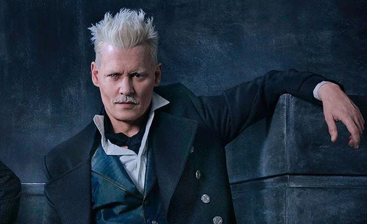 Johnny Depp dans «Fantastic Beasts: the Crimes of Grindelwald».