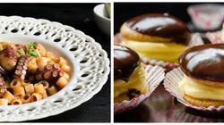 Κυριακάτικο τραπέζι: Χταπόδι με κοφτό μακαρονάκι στον φούρνο και