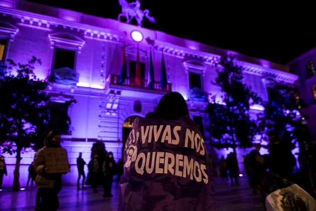 Movilización en Granada contra la violencia