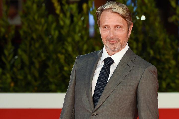 Mads Mikkelsen au Festival international du film de Rome, le 20 octobre 2020.