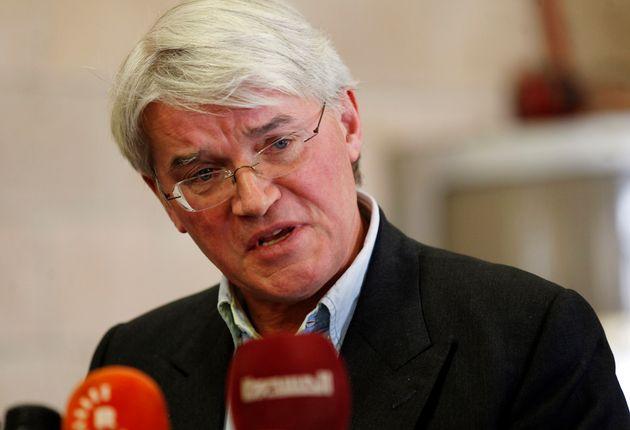 Former development secretary Andrew