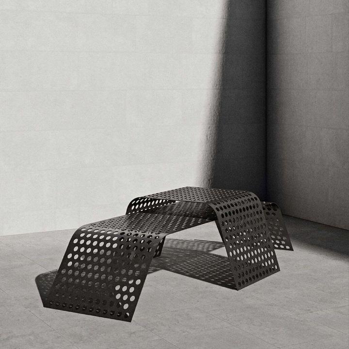 Table perforée: Jean-Michel Gadoua