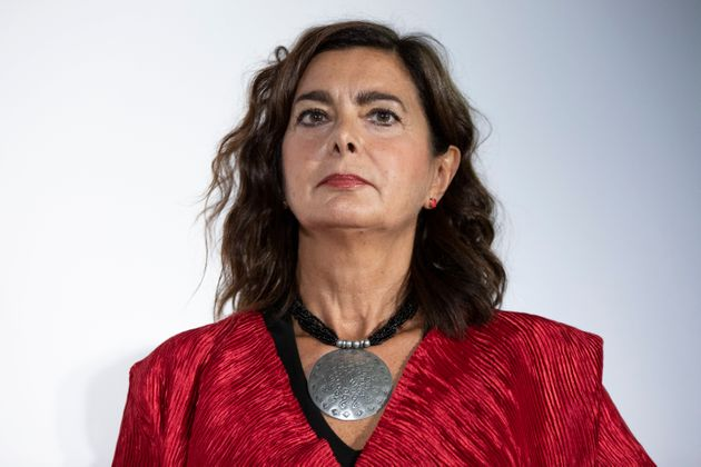 Italian politician Laura Boldrini guest on the third day of Il Tempo delle Donne at Milan Triennale....