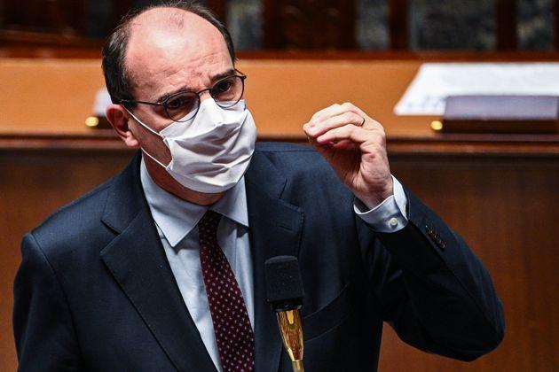 Jean Castex, ici à l'Assemblée nationale à Paris, le 24 novembre