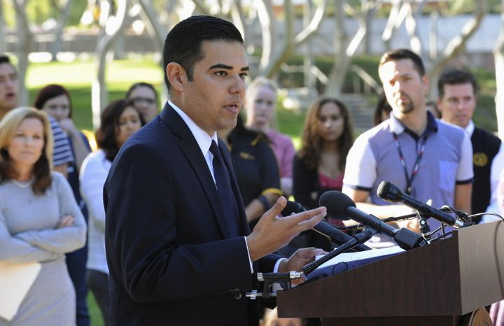 If appointed, Robert Garcia (D) — mayor of Long Beach, California — would be both the state's first Latino senato