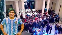 En Argentine, le palais présidentiel envahi par la foule venue rendre hommage à