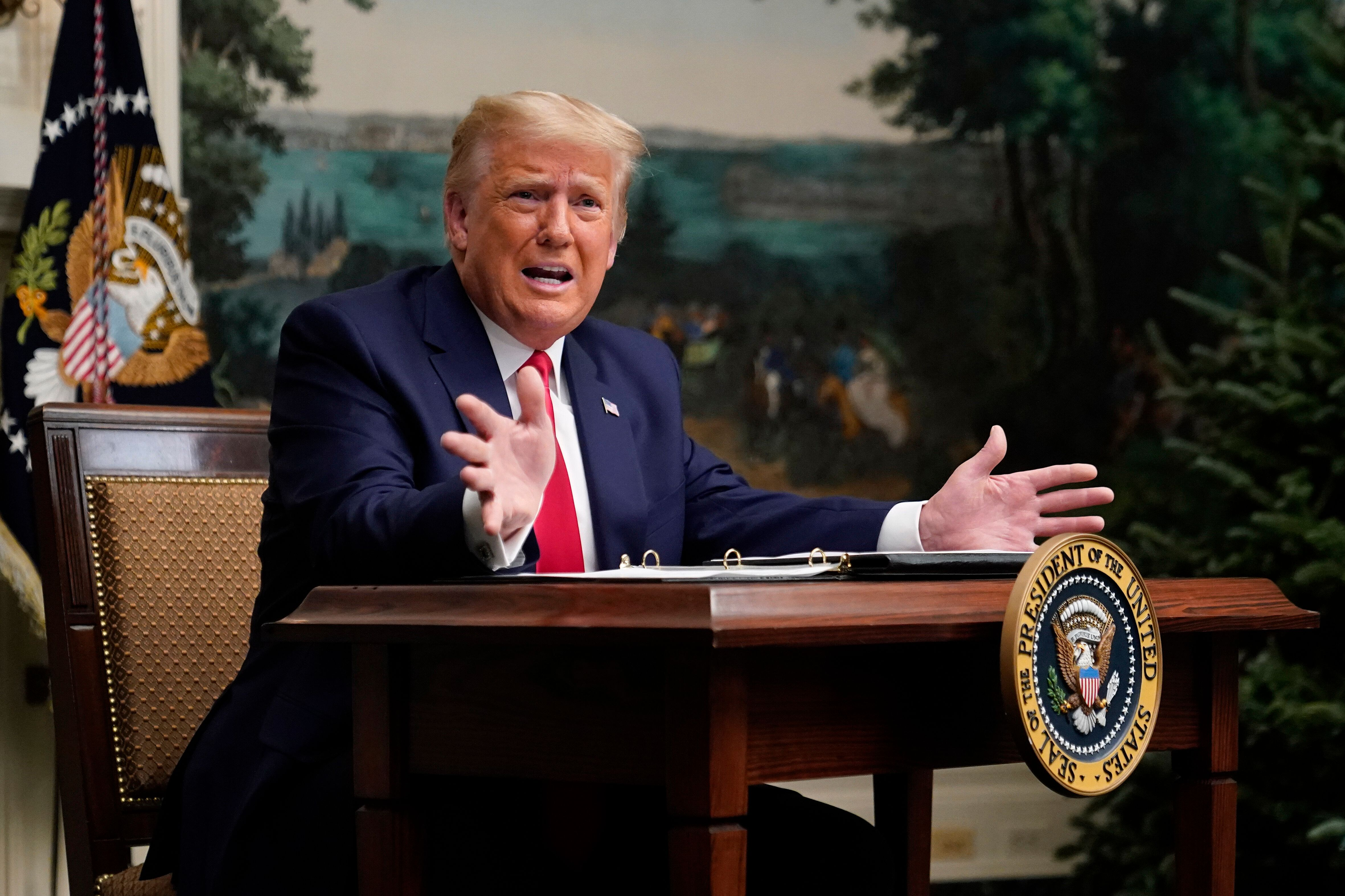 Trump Says He's Not Thankful, Refuses To Say If He Will Attend Biden Inauguration