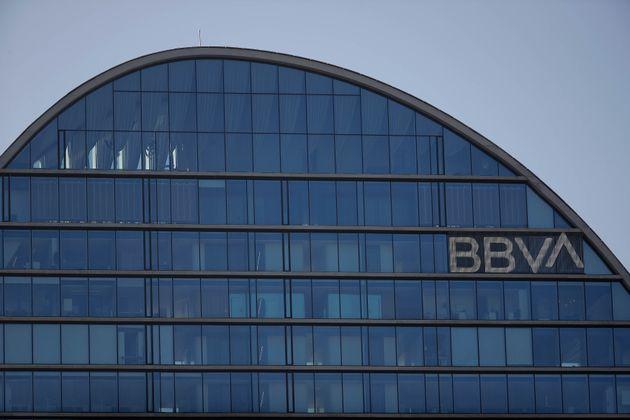 Sede del BBVA en Madrid (Burak Akbulut/Anadolu Agency via Getty