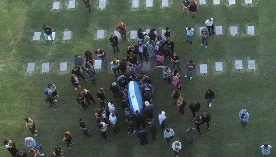 Η Αργεντινή αποχαιρετά τον Ντιέγκο