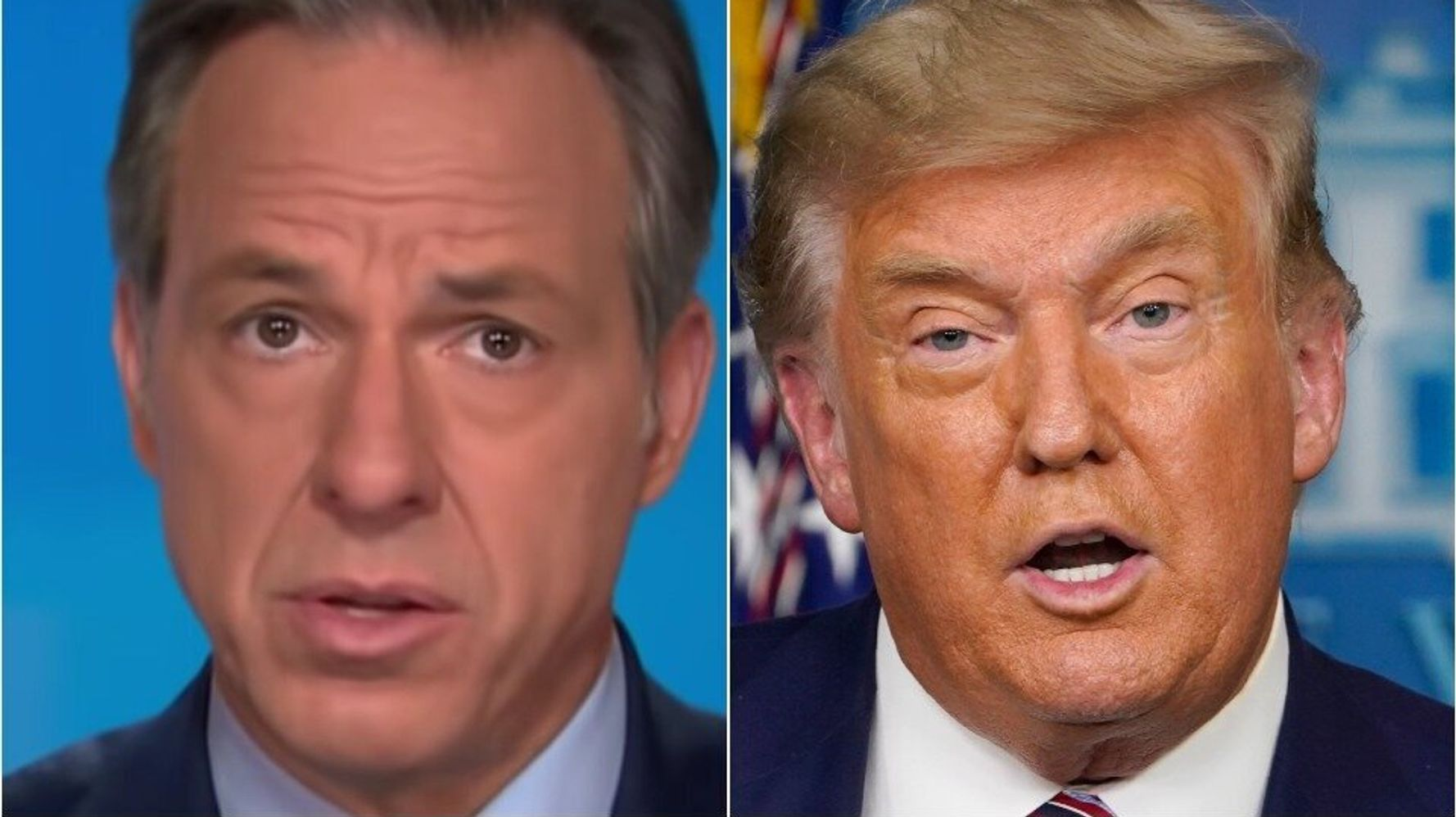 Jake Tapper Hits Donald Trump With A Blunt Reminder After President's Rant At Reporter