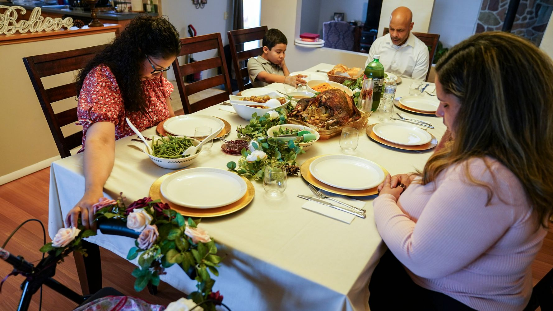 Empty Seats, Delivered Feasts As Virus Changes Thanksgiving