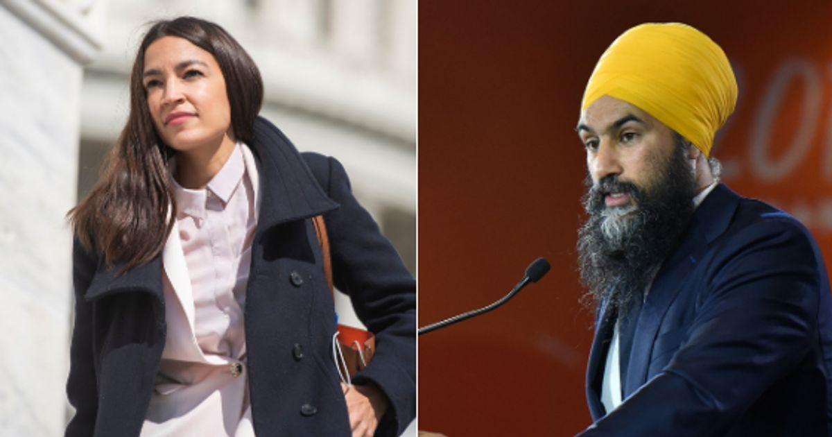 Jagmeet Singh et Alexandria Ocasio-Cortez s'affrontent... dans un jeu vidéo