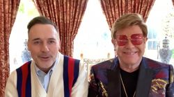 Elton John Shines A Light On How Pandemic Has Affected Queer People In British LGBT Awards