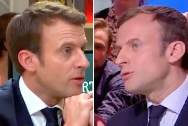 Face aux violences policières, ces deux archives du candidat Macron refont