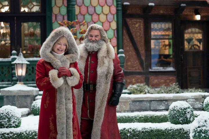 """The Christmas Chronicles 2"" on Netflix."