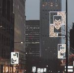 Une installation en hommage à la nation Mohawk illumine le centre-ville de