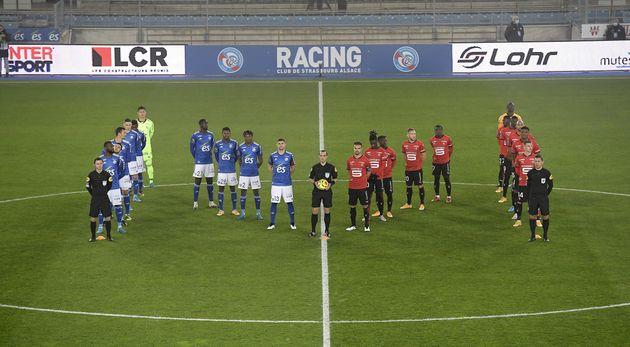 Strasbourg-Rennes: un premier hommage à Maradona en Ligue