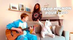 Julien Doré chez de (très) jeunes fans pour la reprise la plus mignonne de