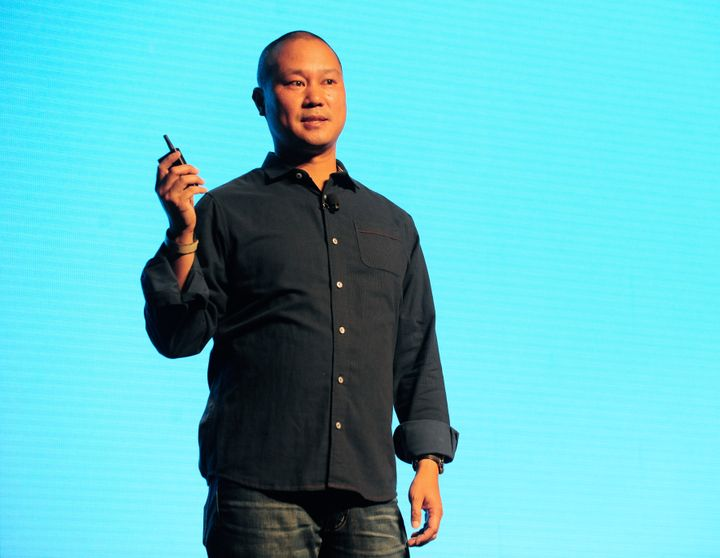 Tony Hsieh, the retired CEO of Las Vegas-based online shoe retailer Zappos.com who spent years working to transform the city&