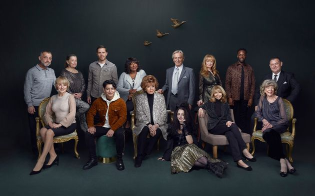 Corrie's longest-serving and newest cast members recently posted for this photo in honour of the show's...