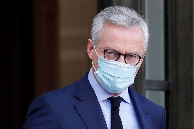 Bruno Le Maire a annoncé le doublement du plafond de l'aide aux entreprises qui vont devoir rester...