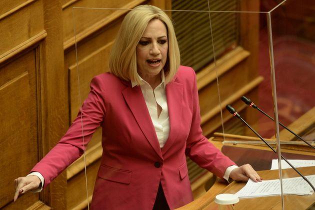 Επιστολή Γεννηματά στον πρόεδρο των ευρωπαίων Σοσιαλιστών - Ζητά επιβολή κυρώσεων στην Τουρκία