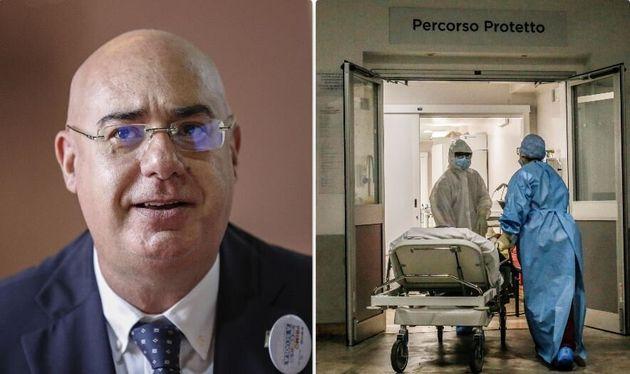 Mario Balzanelli, presidente Sis118 - l'ingresso di un reparto
