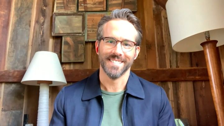 Ryan Reynolds appears virtually on the Tonight Show on May 5, 2020.