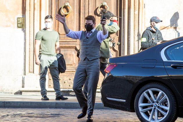 Tom Cruise a Roma ANSA/MASSIMO