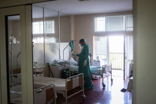 Θάλαμος σε νοσοκομείο...