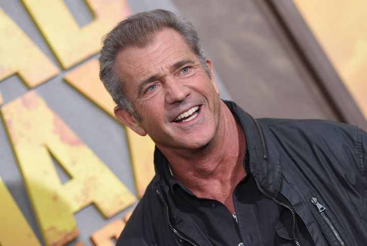 Mel Gibson arrives at the Los Angeles premiere of 'Mad Max: Fury Road' at TCL Chinese Theatre IMAX on May 7, 2015. (Photo by Axelle/Bauer-Griffin/FilmMagic)