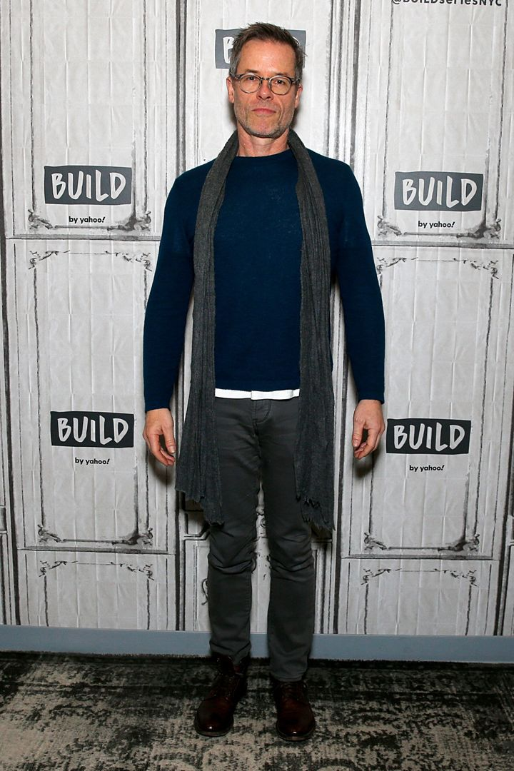 Guy Pearce attends the Build Series to discuss 'A Christmas Carol' at Build Studio on December 17, 2019 in New York City.