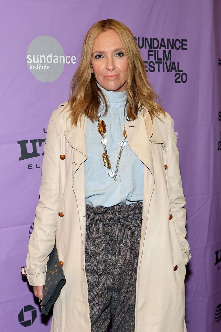 "Toni Collette attends the ""Opening Night Reception Presented by Zions Bank"" premiere during the 2020 Sundance Film Festival at Pierpont Place on January 24, 2020 in Salt Lake City, Utah."