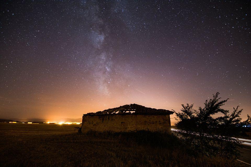 La Vía Láctea en el cielo de La