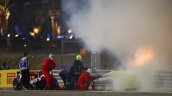 Formula One Driver Miraculously Escapes Fiery Crash At Bahrain Grand