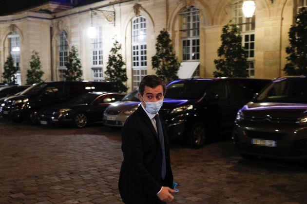 Gérald Darmanin, ici à l'hôtel Matignon, à Paris, le 29 novembre