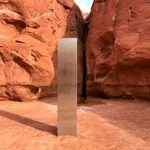 Un monolithe trouvé dans le désert de l'Utah disparait peu après avoir été