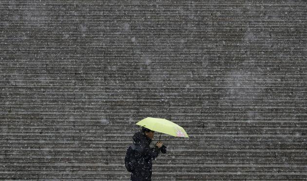월요일(30일) 전국이 영하권으로 떨어지고 눈·비가 내릴