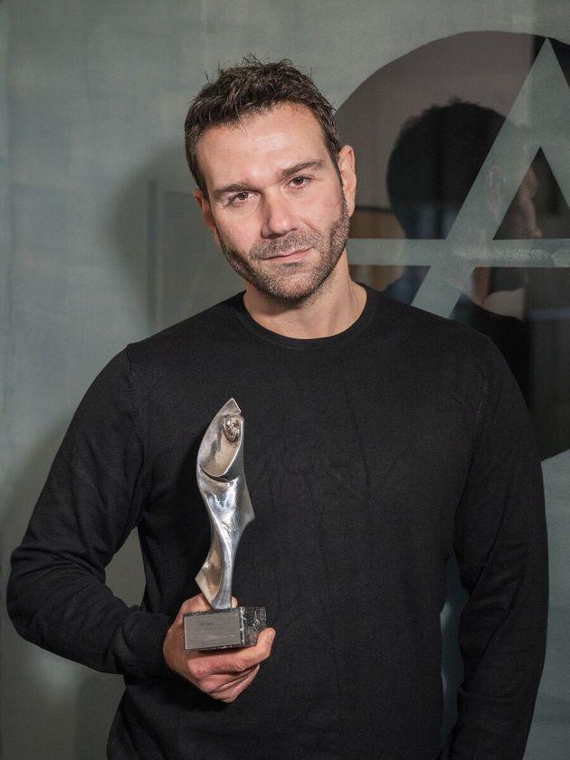 Πρώτο βραβείο ανδρικού ρόλου στον Τάσο Ιορδανίδη («Ο πατέρας»)