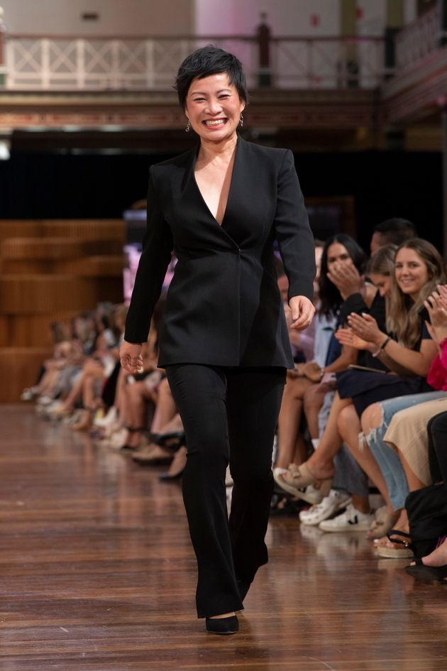 'MasterChef' star Poh Ling Yeow is nominated for an AACTA Awards - pictured here at Melbourne Fashion...