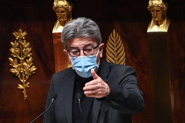 Jean-Luc Mélénchon, ici à l'Assemblée nationale à Paris, le 24 novembre