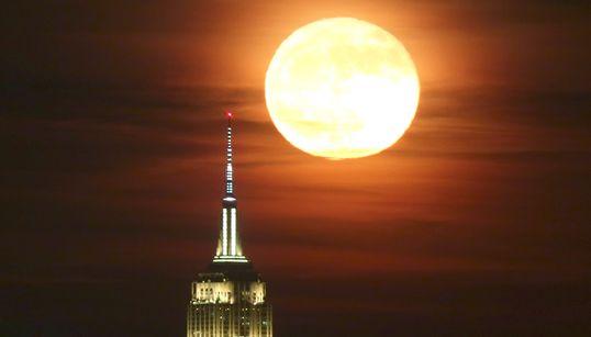【ビーバームーン】今夜は半影月食でしかも満月。いつ見える?