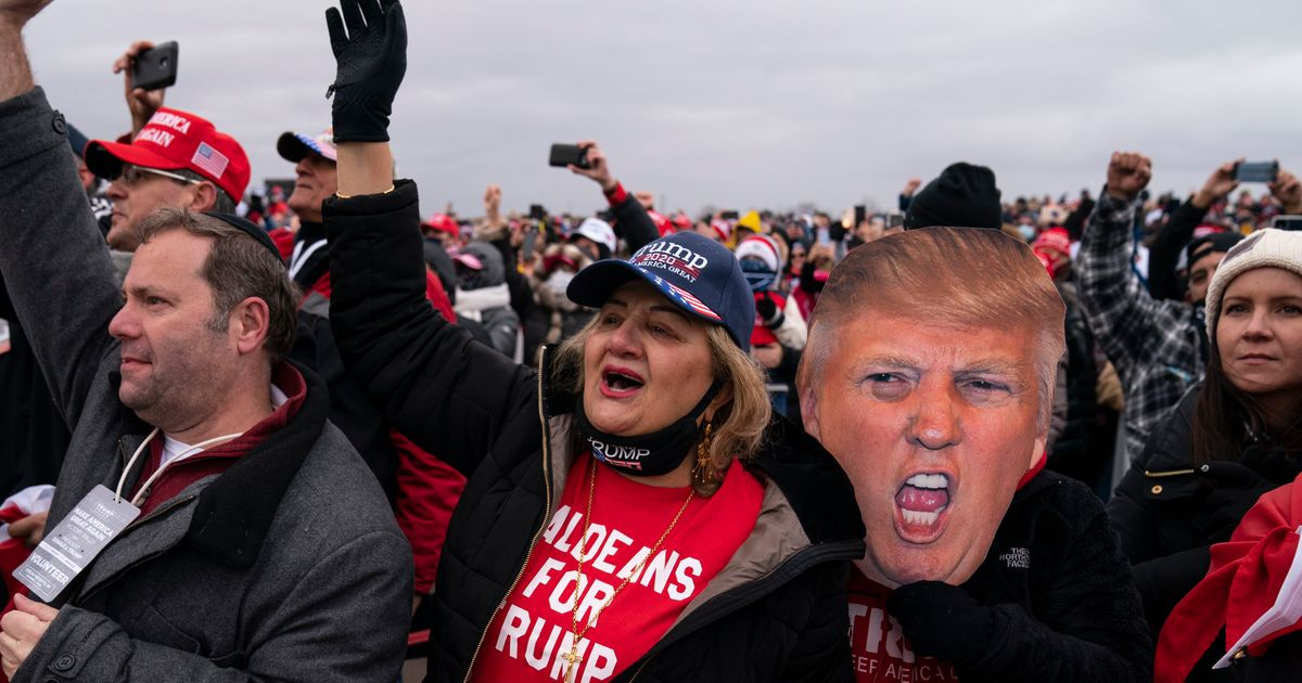 Trump's Rallies Didn't Pay Off For Him At The Polls, According To Data