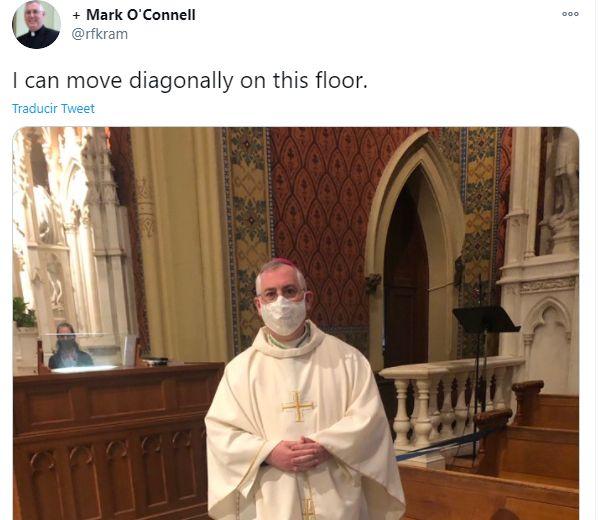 El tuit del obispo Mark